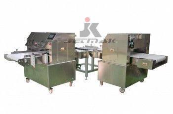 方形自動切蛋糕機(可兩台連接成生產線) / JM-C660M