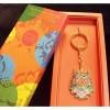 西藏【布達拉宮】的祝福 布達拉宮經典吉祥八寶鑰匙圈(觀音聖殿加持 吉祥如意的祥瑞佩飾)
