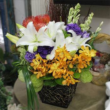 《洋洋得意》精緻桌上盆花
