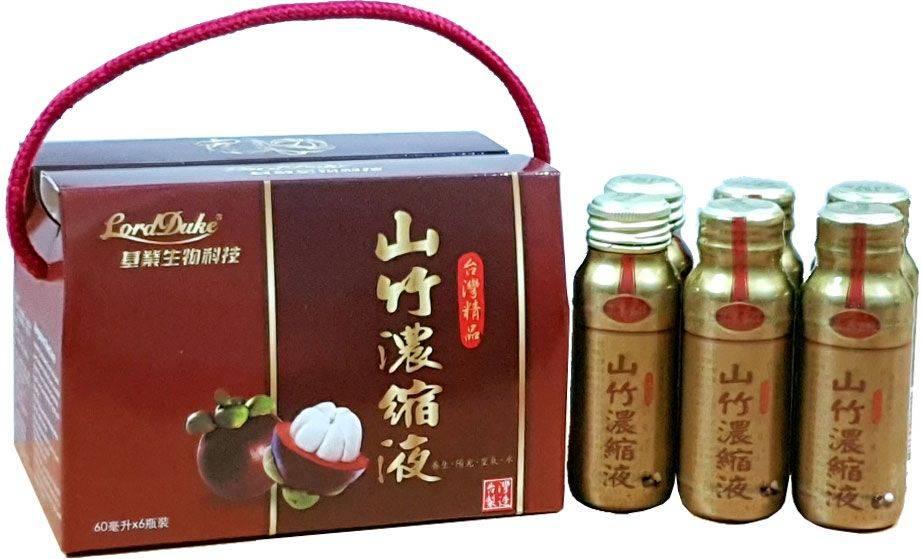 Lord Duke 山竹濃縮液 (60毫升× 6瓶/盒)