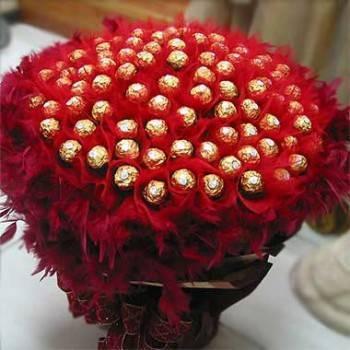 《深情款款》99朵金莎花束