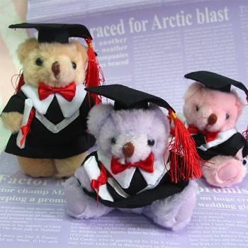 【加購品】5吋畢業博士熊