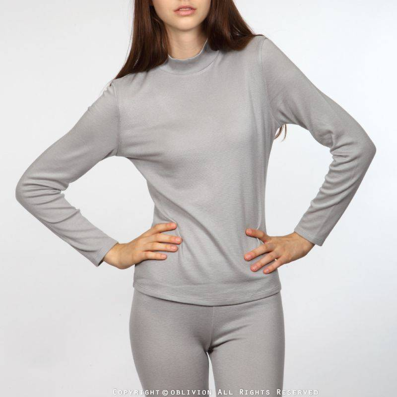 dralon 女舒適立領保暖衣