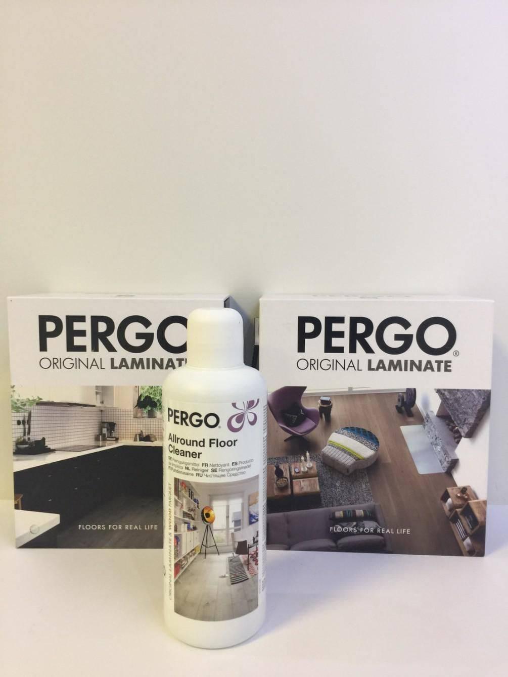 PERGO超強化環保木地板日常保養