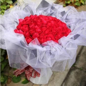 【永恆的愛】99朵紅玫瑰花束