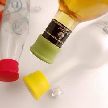 小物宅配-矽膠瓶塞/酒瓶塞/保鮮酒瓶蓋/密封調味瓶塞/紅酒塞/矽膠塞/葡萄酒塞 Lohogo樂活趣