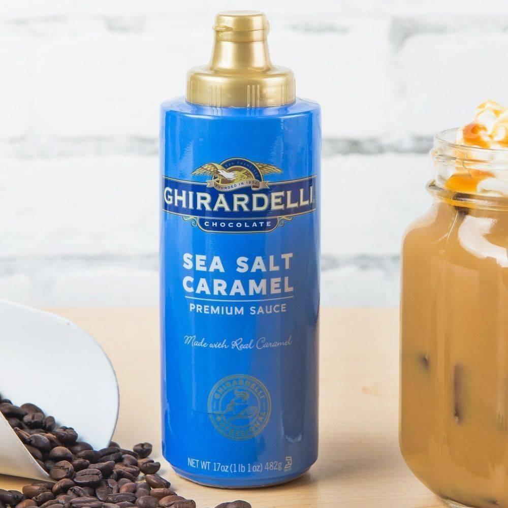 海鹽焦糖淋醬
