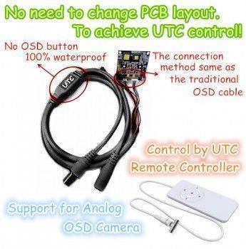 The UTC Cable & Controller (Support Analog only)