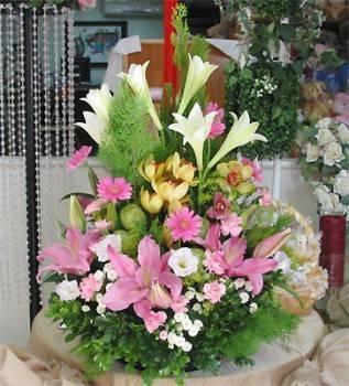 《祝福》精緻桌上盆花