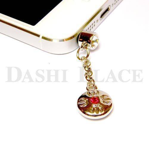 手機吊飾-銀紅-羯摩