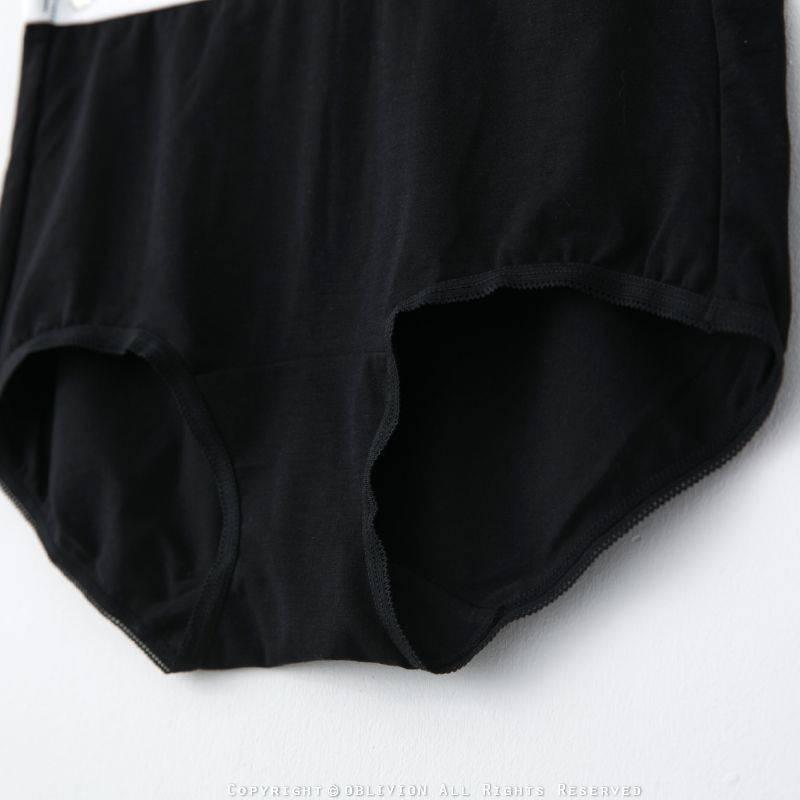 女薄荷紗中腰平口褲
