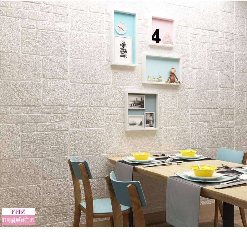 3D立體牆貼加厚砂岩款M27