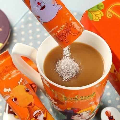 《親愛的》白咖啡不加糖20包