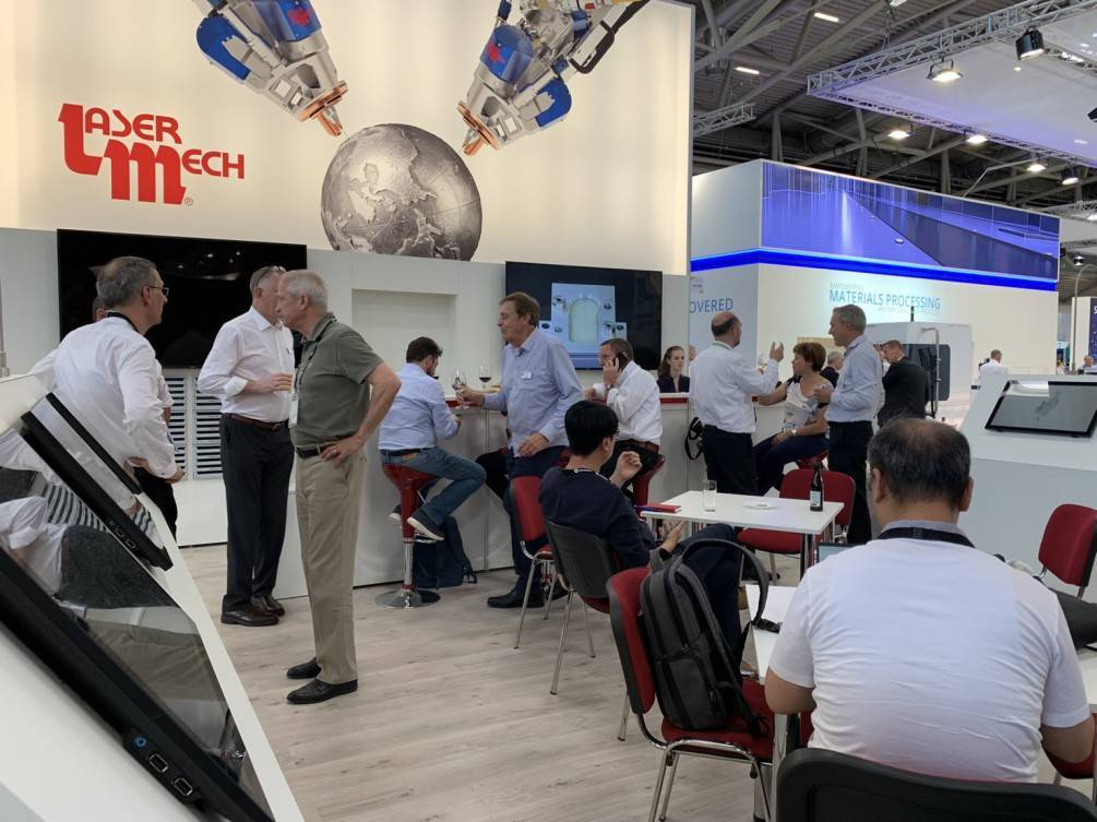 Laser mech launched the latest fiberweld DH at laser world of photonics Expo