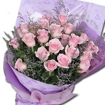 《堅愛》33朵鐵達尼玫瑰花束