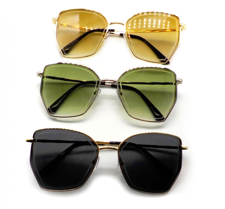 2535-銅框太陽眼鏡