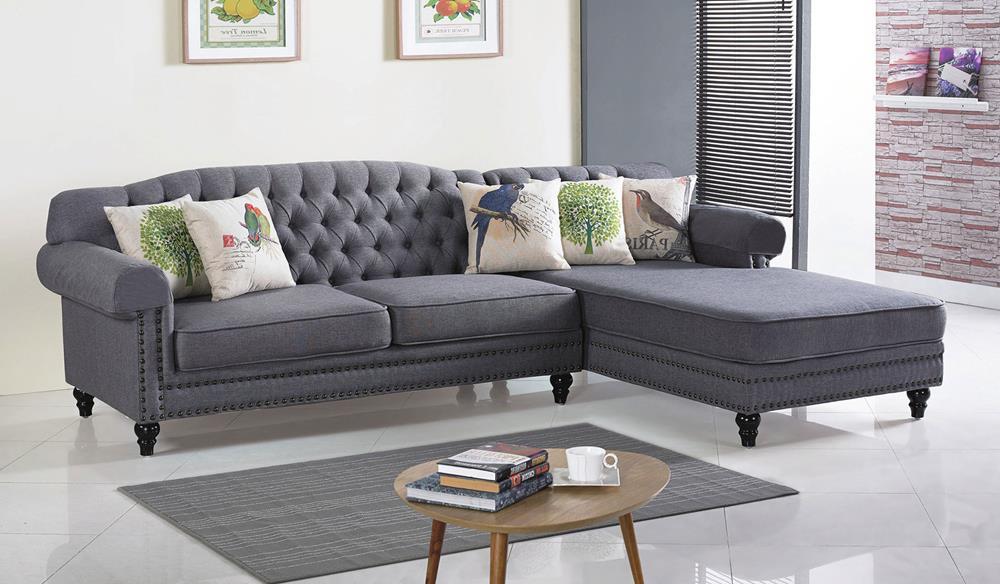CL-267-2 L型(左貴妃+三人)布沙發(附抱枕5個.扶手套2個) (不含其他產品)