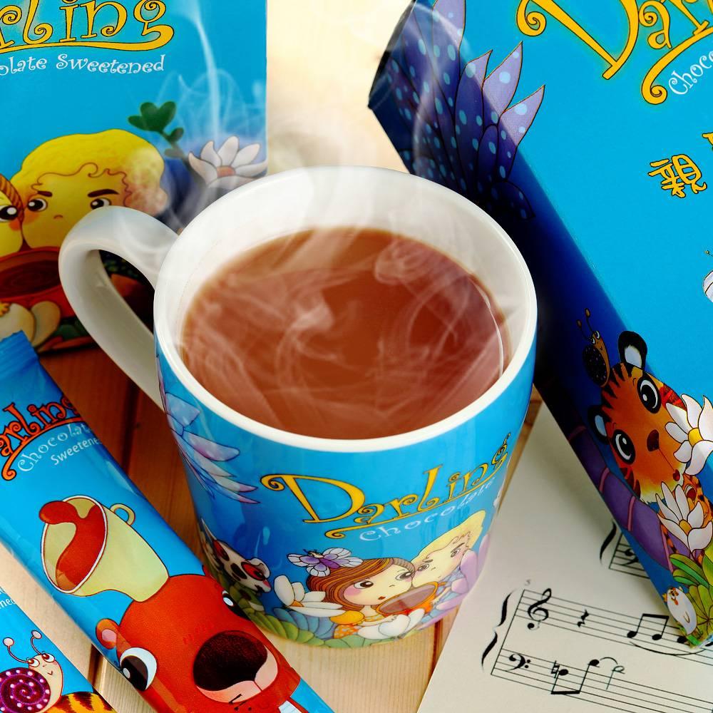 《親愛的》咖啡/巧克力/奶茶/麥片,熱銷飲品買三送一(送吸水杯墊)