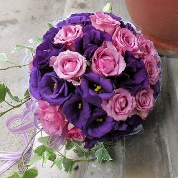 《紫愛》新娘捧花