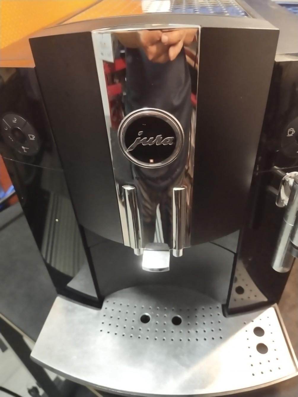 jura-c9 全自動咖啡維修-不出咖啡無法下粉維修