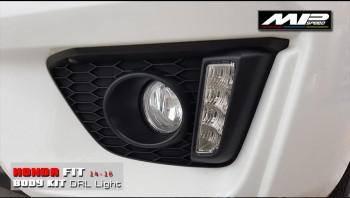 2014-2016 Honda Fit Daylight+Cover Fog Assy R+L