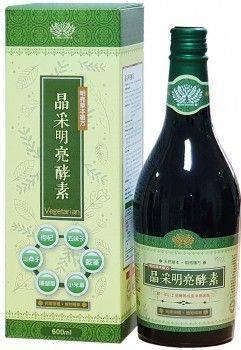 晶采明亮酵素 (600ml/瓶)