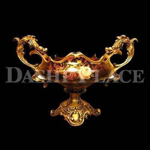 皇家尊爵手工彩繪-尊杯聚寶盤 0223-003