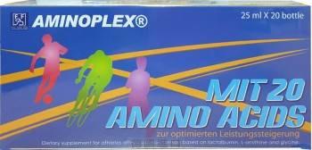 【晶倍力】FFB 德國原裝  (Aminoplex) 20種胺基酸-濃縮補精 (25ml × 20瓶/盒)