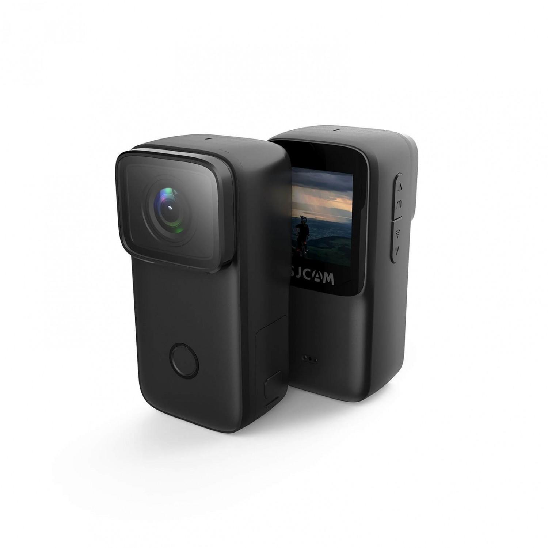 (送項圈支架+手機夾)FLYone SJCAM C200 4K高清WIFI 全機防水微型攝影機/迷你相機