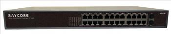 非網管型 24*10/100/1000MRJ45連接埠+2*1000M SFP連接埠 PoE 交換機