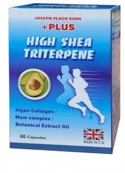 【晶固力】英國進口  乳木果油三萜類植物性軟膠囊【全素可食】(60粒/盒裝)