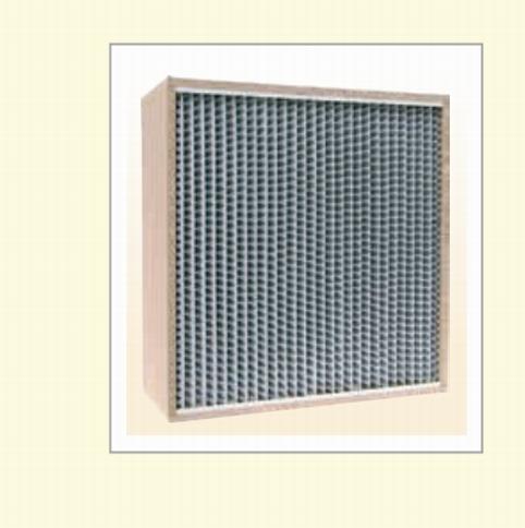 高效率濾網 -隔板型