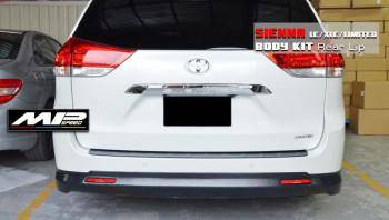 2011-2020 Toyota Sienna LE/XLE 3.5 MP Style Rear Lip