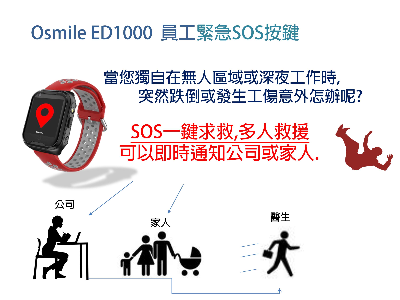 Osmile ED1000 企業 GPS 管理 SOS求救後台管理-1