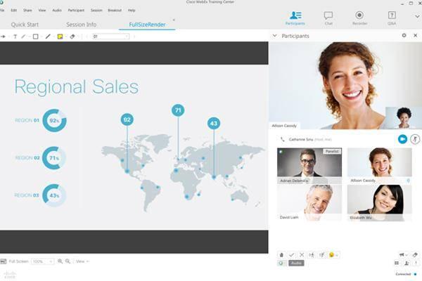 多人視訊會議-螢幕共享-檔案共同檢視