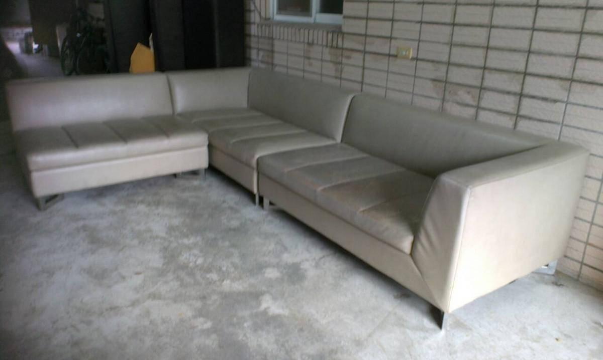 L型沙發椅修理換皮請找吉昌沙發工廠