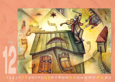 桌曆製作-12月份