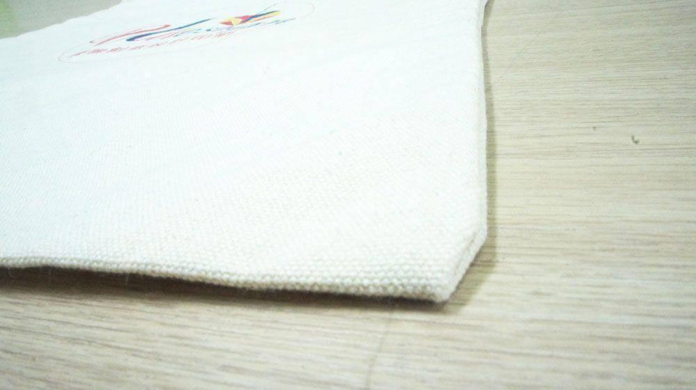 環保帆布提袋近照角落-優聯創意設計印刷有限公司
