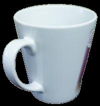 斜口馬克杯客製化-優聯創意設計印刷有限公司