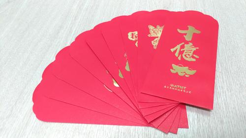 紅包袋知識專欄-金砂紙紅包袋