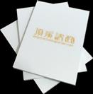 A6膠裝memo紙印刷-封面上光